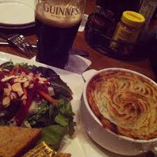 Guinness and a meal