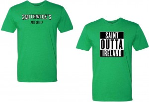 St Patrick's Day 2016 tees