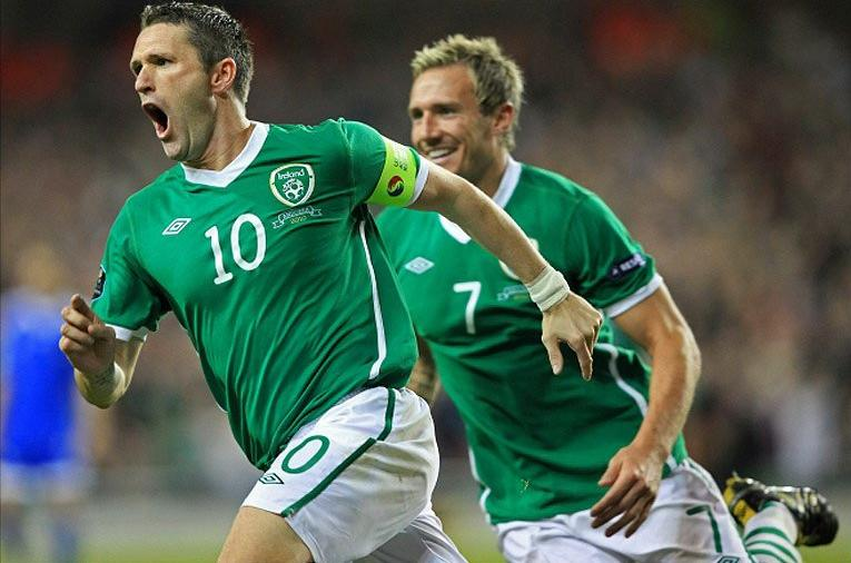 Roy Keane Rep of Ireland