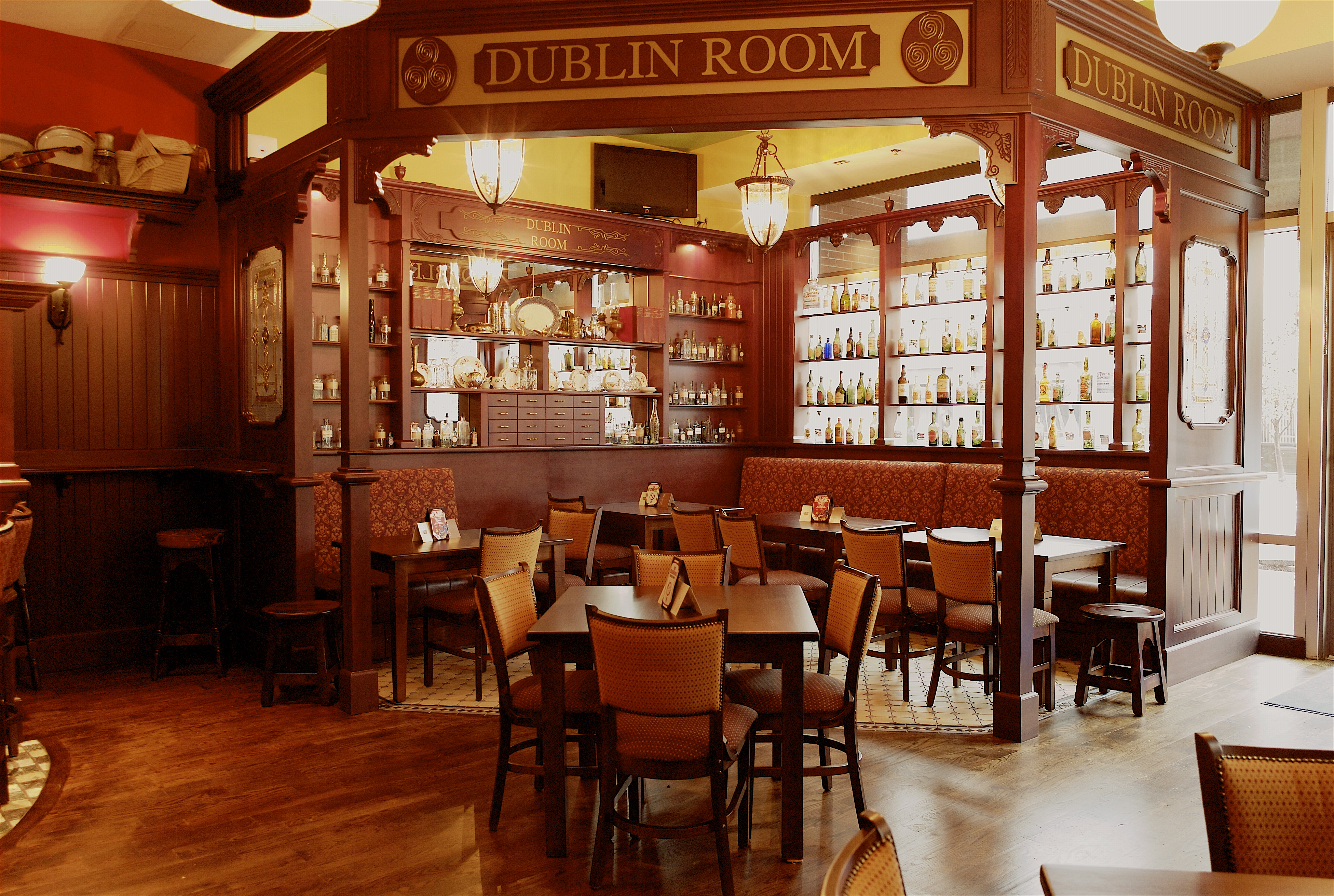 the dublin room at fado annapolis