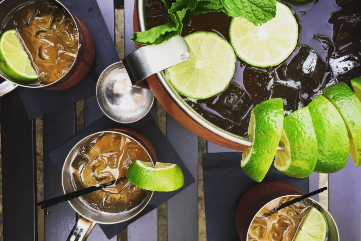 aerial photo of mega moscow mule
