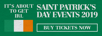Saint Patrick's Day 2017 Tickets on sale now